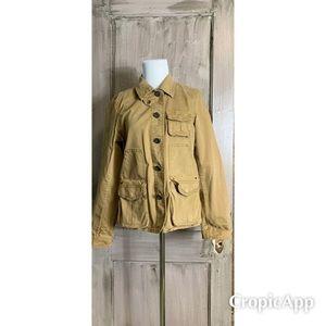JCrew Tan Utility Jacket